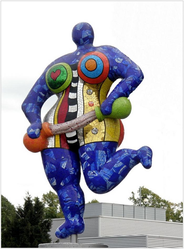 Niki de saint Phalle tintenblau