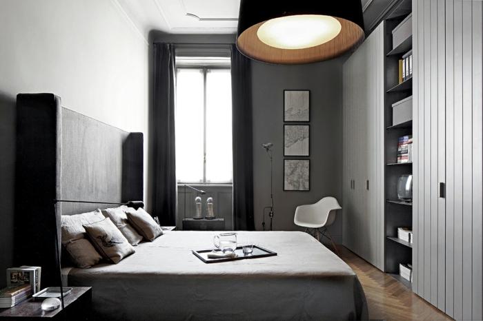 Palazzo Style Apartment mailand industrail möbel schlafzimmer einrichten