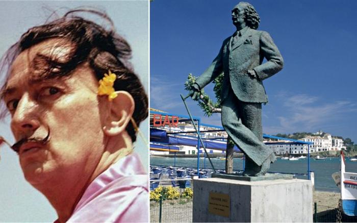 Salvador Dali statue prominews