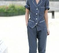 Schlafanzug als Tagesbekleidung- die Mode meint es ernst!