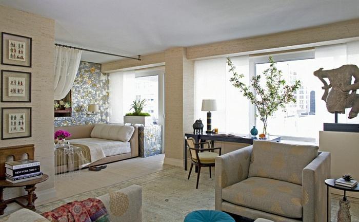 Schlafzimmer Design hell marokko mix schlafsofa