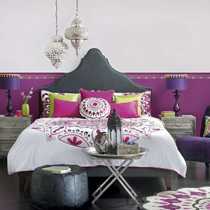 Schlafzimmer Design laterne