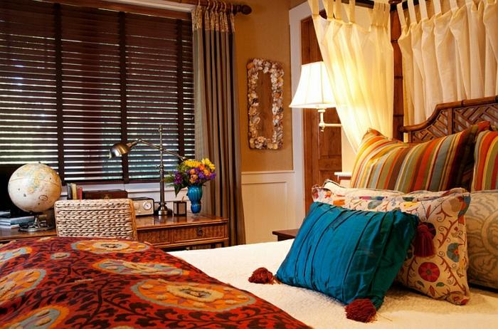 Schlafzimmer Design marokko überlagerung