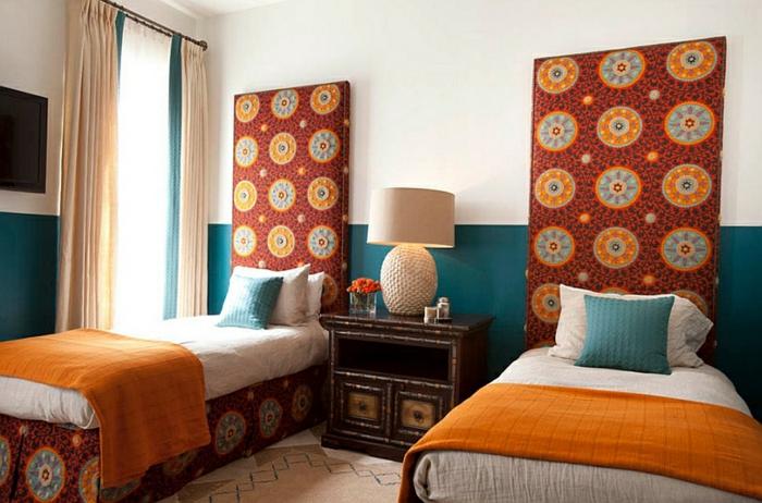 Schlafzimmer Gestalten Schlafzimmer Design Modern Mix Marokko Kopflehne