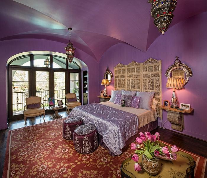 schlafzimmer design- 33 gestaltungsideen aus marokko, Innenarchitektur ideen