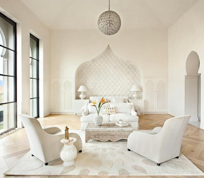 Schlafzimmer Design weiß