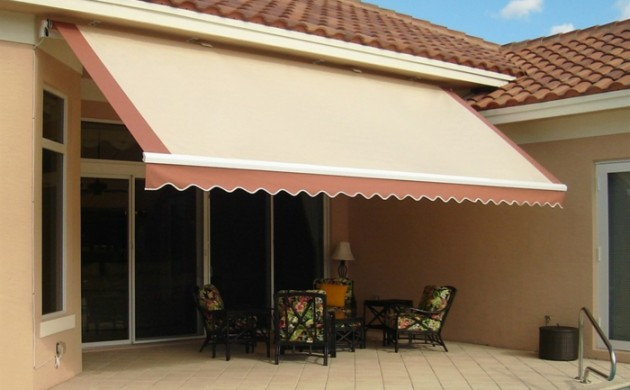 Sonnenschutz -Terrasse-Markise