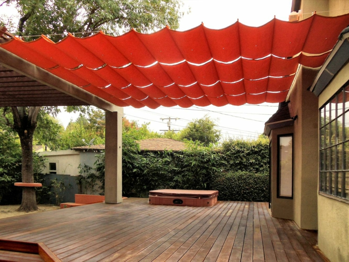 sonnenschutz terrasse untersch tzen sie die hitze lieber nicht. Black Bedroom Furniture Sets. Home Design Ideas