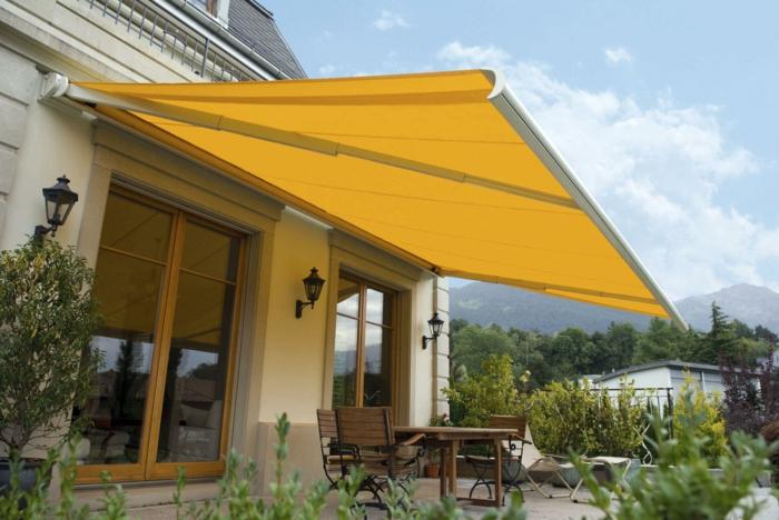 sonnenschutz terrasse untersch tzen sie die hitze lieber. Black Bedroom Furniture Sets. Home Design Ideas