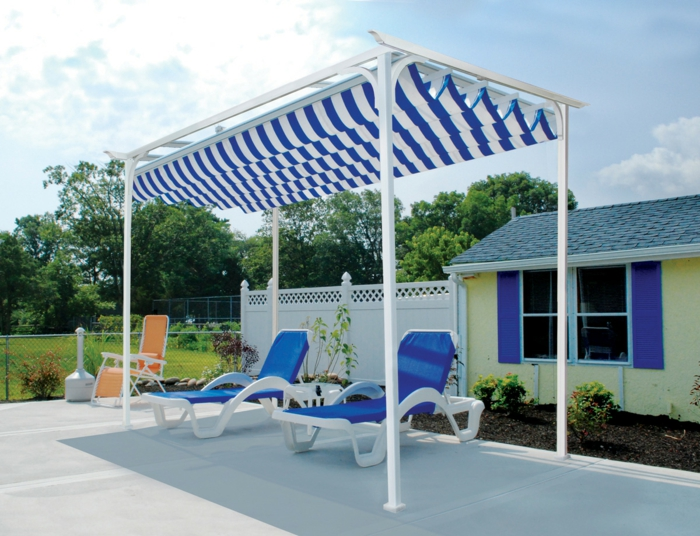 Sunscreen Terrace - Do not underestimate the heat!
