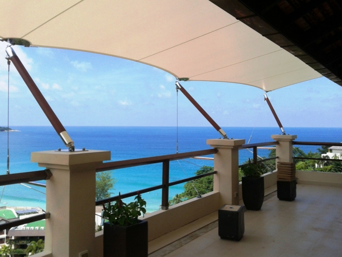 Sonnenschutz Terrasse sonnen segel