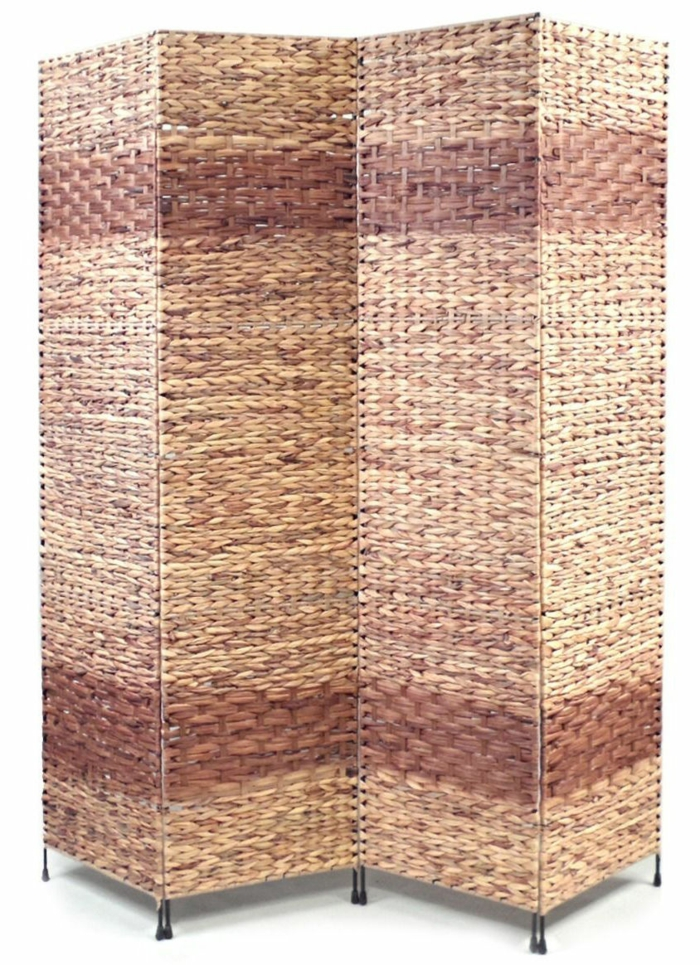 Spanische Wand ratan geflochten