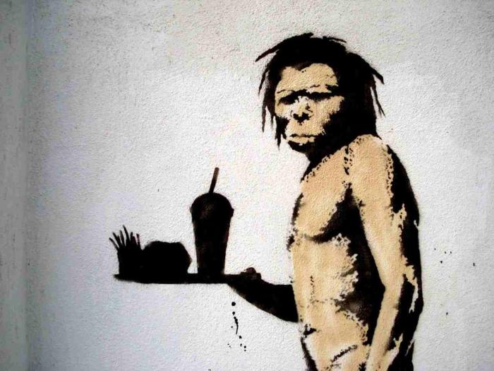 Streetart Künstler Banksy mcdoof