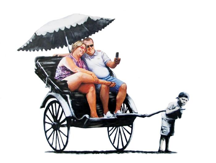 Streetart Künstler Banksy