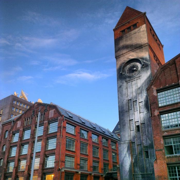 Streetart Künstler JR Berlin