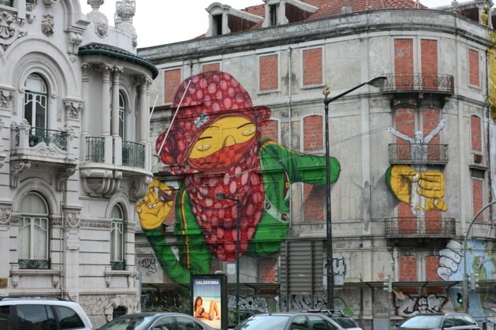Streetart Künstler Os Gemeos
