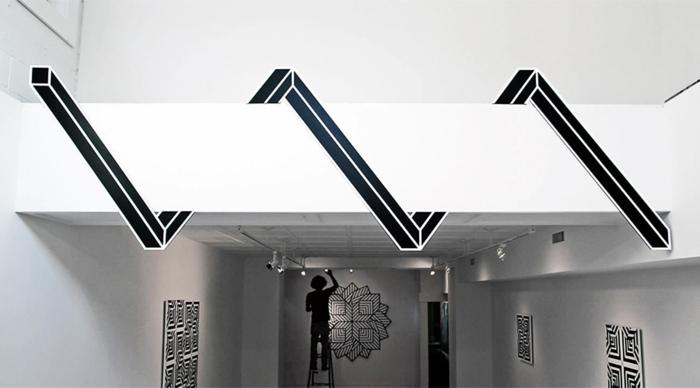Stree tart Künstler aakash urban illusion