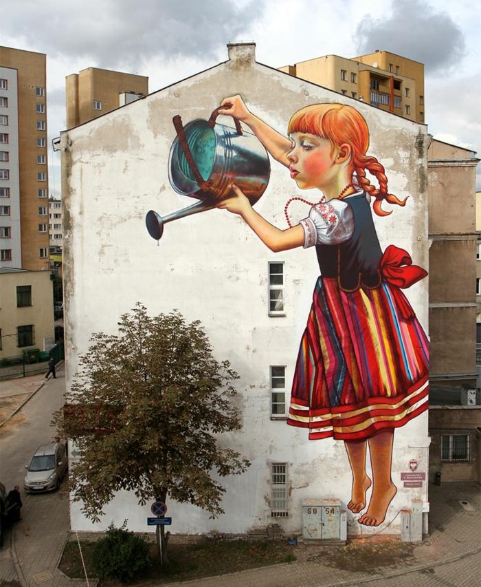 Streetart Künstler unbekkant ost