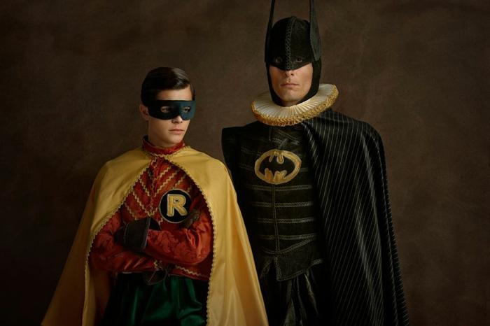 Superheld Batman und Robin