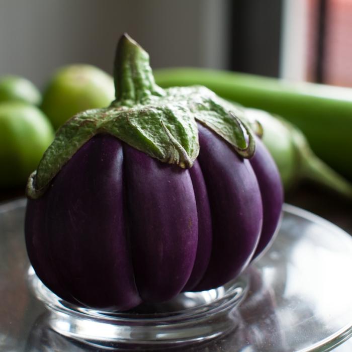 auberginen Thailand ausgefallene sorte geschichte