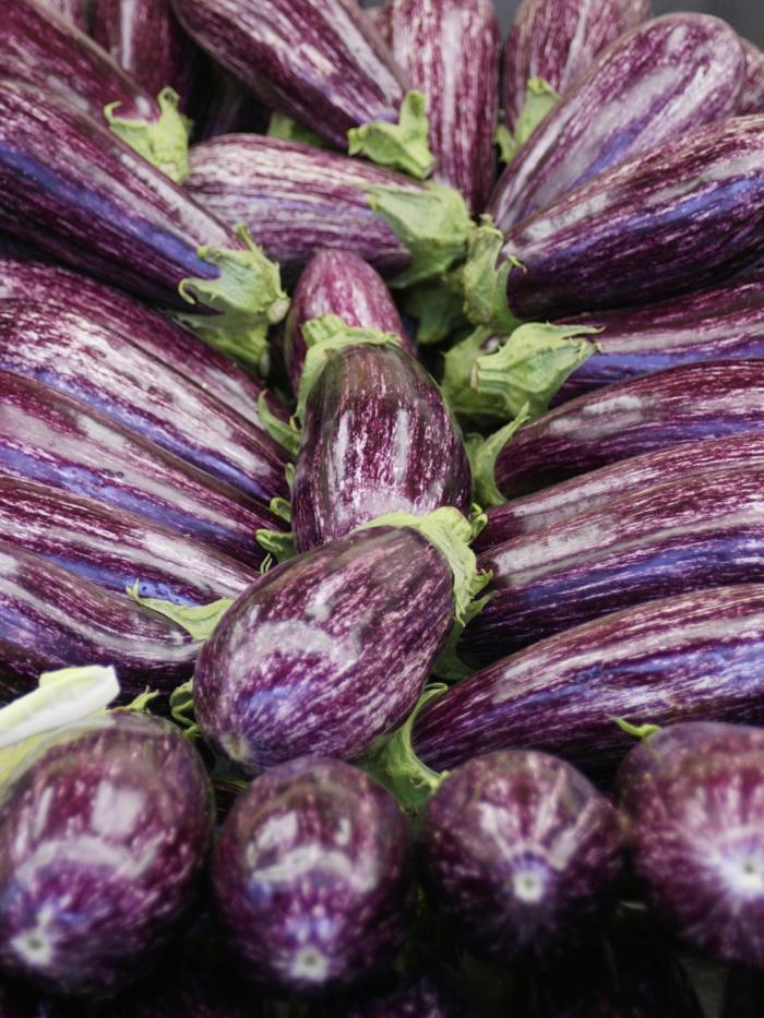 auberginen essen unerschiedliche sorten