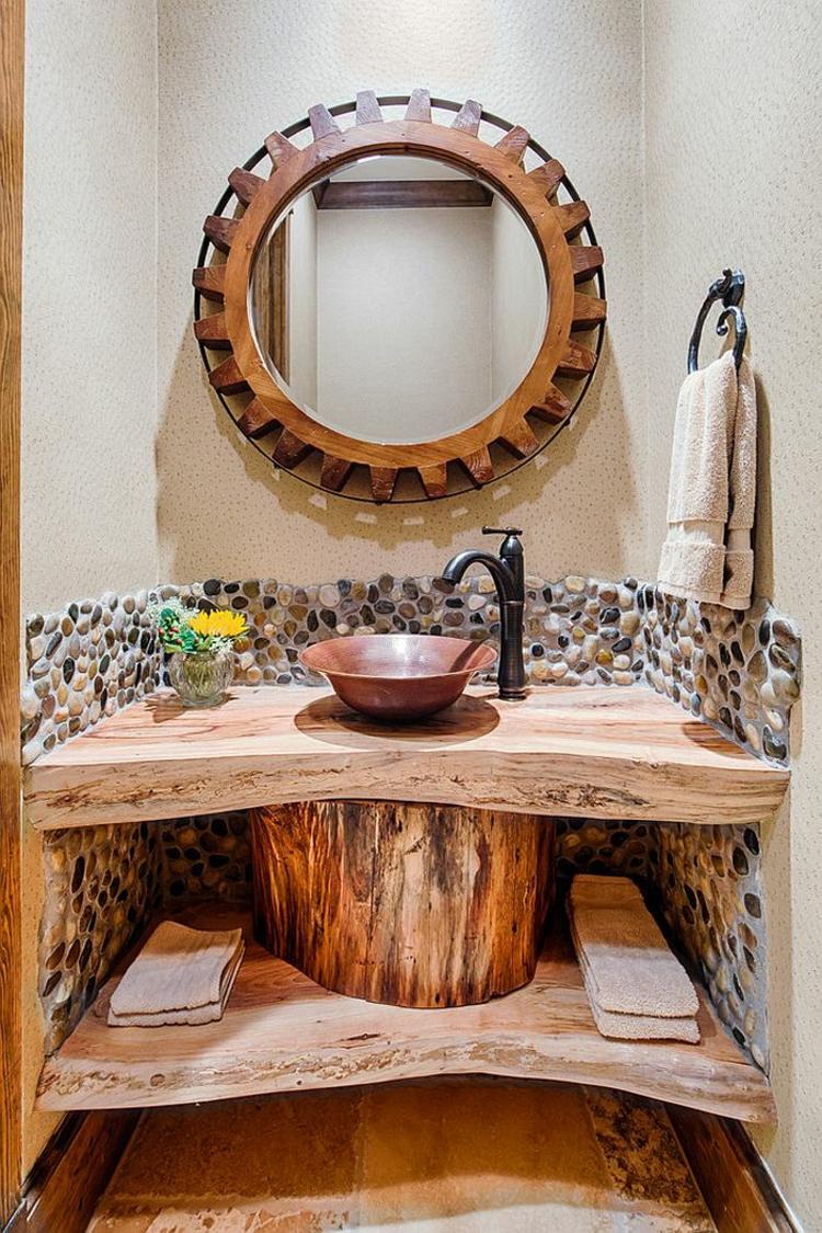 Badmöbel Rustikal rustikale möbel 50 beispiele für moderne badmöbel im landhausstil