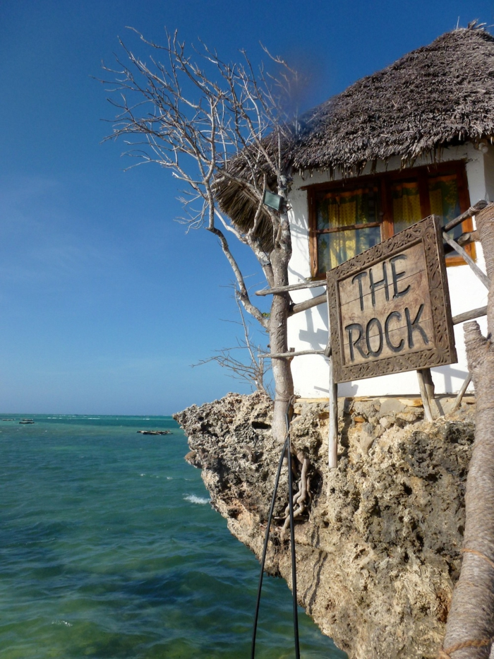 ausgefallene restaurants the rock tansania