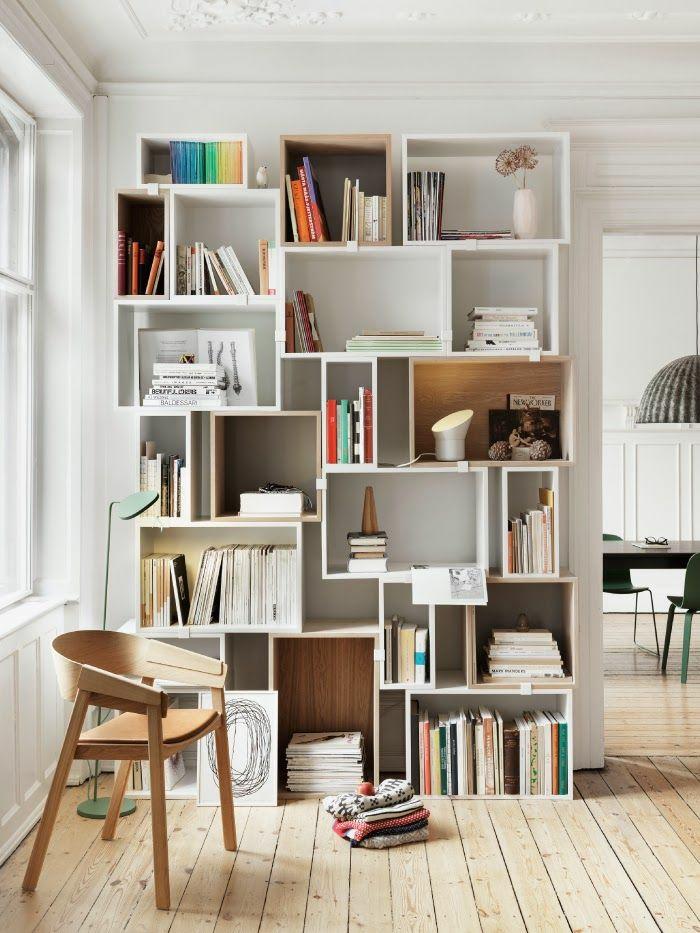 Bücherregal Ideen – Stellen wir die Bücher aus!
