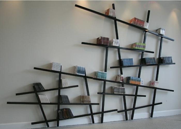 Bücher Regale coole regalsysteme und bücherregale hauchen dem interieur leben ein