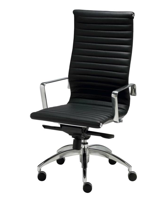 bürostuhl aussuchen schwarz funktionales design