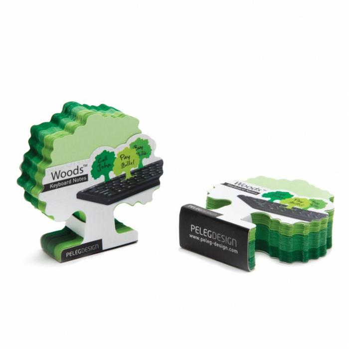 bürozubehör klebenotizen grün von pa design