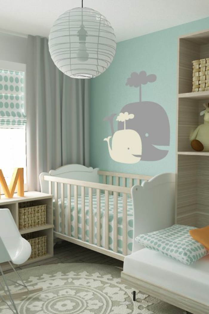 babyzimmer ideen gestalten sie ein gem tliches und kindersicheres ambiente. Black Bedroom Furniture Sets. Home Design Ideas