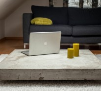 beton wohnzimmertisch