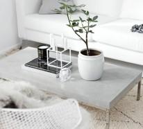 Der Beton Couchtisch – bescheidene Eleganz und stilvolles Design
