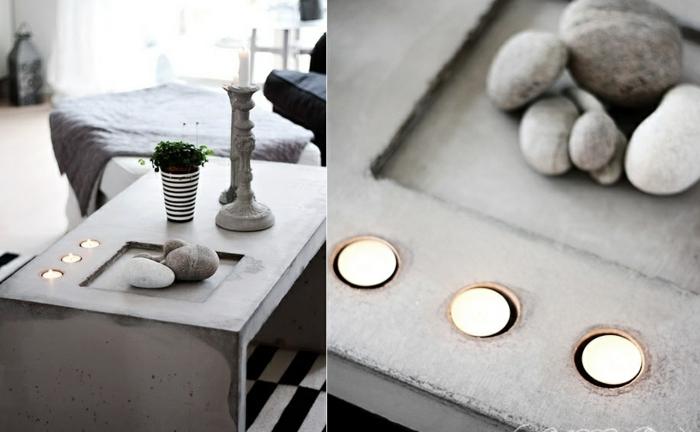 beton-couchtisch-teelichter-natursteine-rund