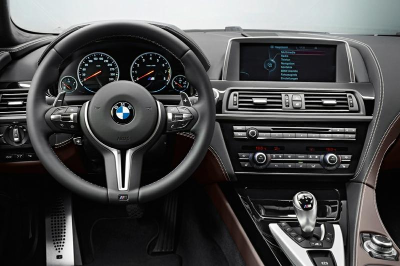 bmw m6 gran coupe interior bmw modelle