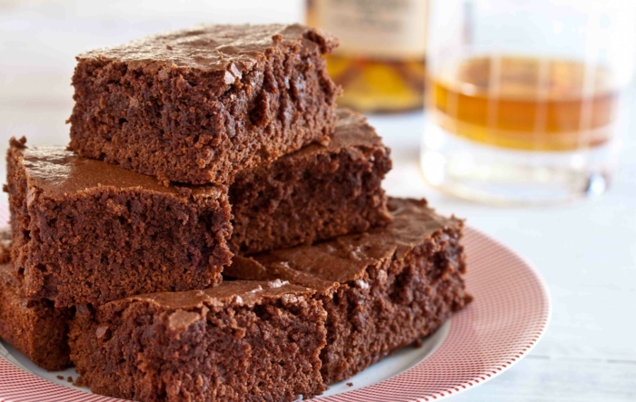 brownie rezept vegan bourbon