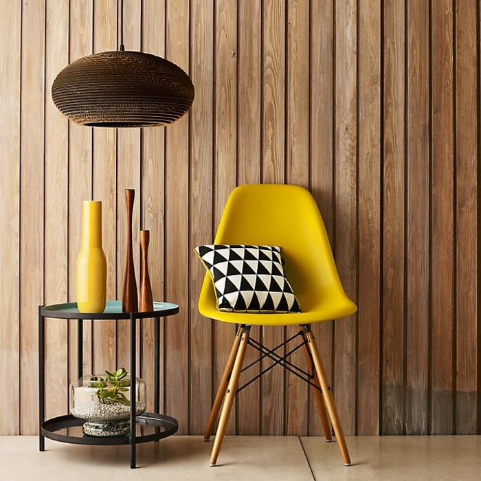 charles ray eames designermöbel Eames Chair gelb