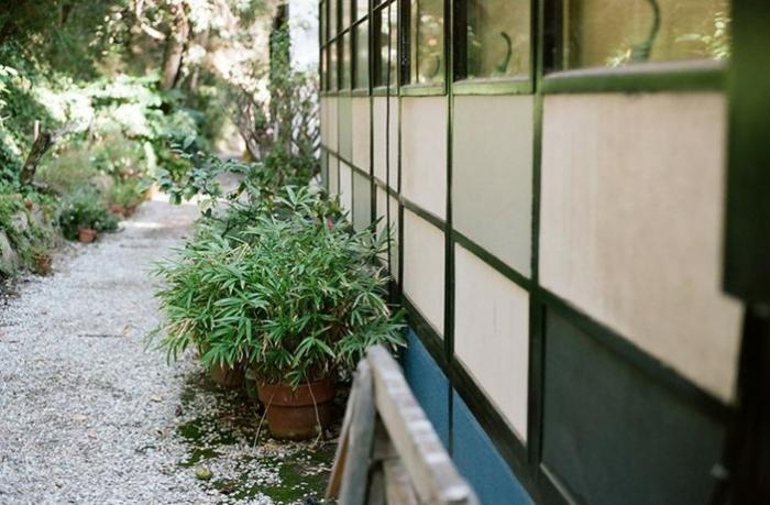 charles ray eames haus gartengestaltung ideen pflanzen