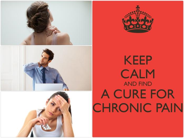 chronische schmerzen bekämpfen keep calm