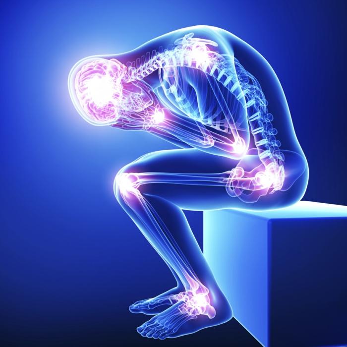 chronische schmerzen experiment gehirn