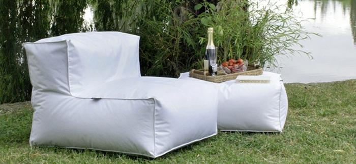 coole möbel gartenmöbel weiß bequem