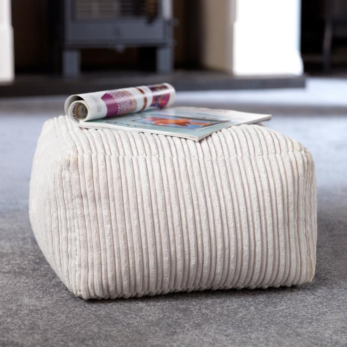 coole möbel sitzpuffs hocker einrichtungsideen