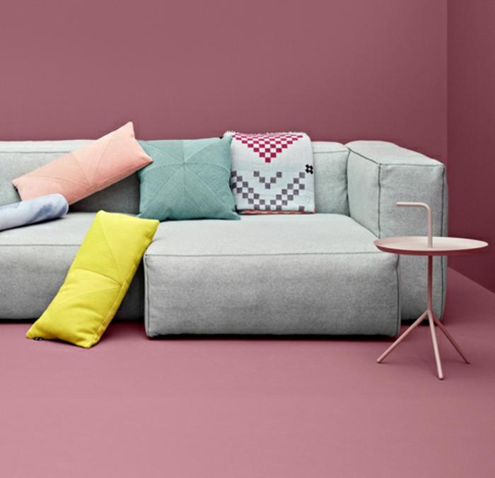 dänische möbel weiches sofa polsterung dekokissen