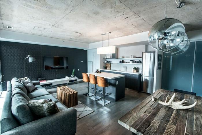 Dachwohnung einrichten - Ideen aus einer Loft-Wohnung in ...