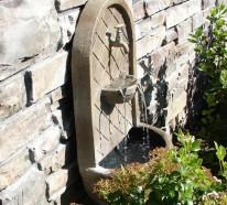 Wandbrunnen – Elegante Ideen, wie Sie den Außenbereich verschönern