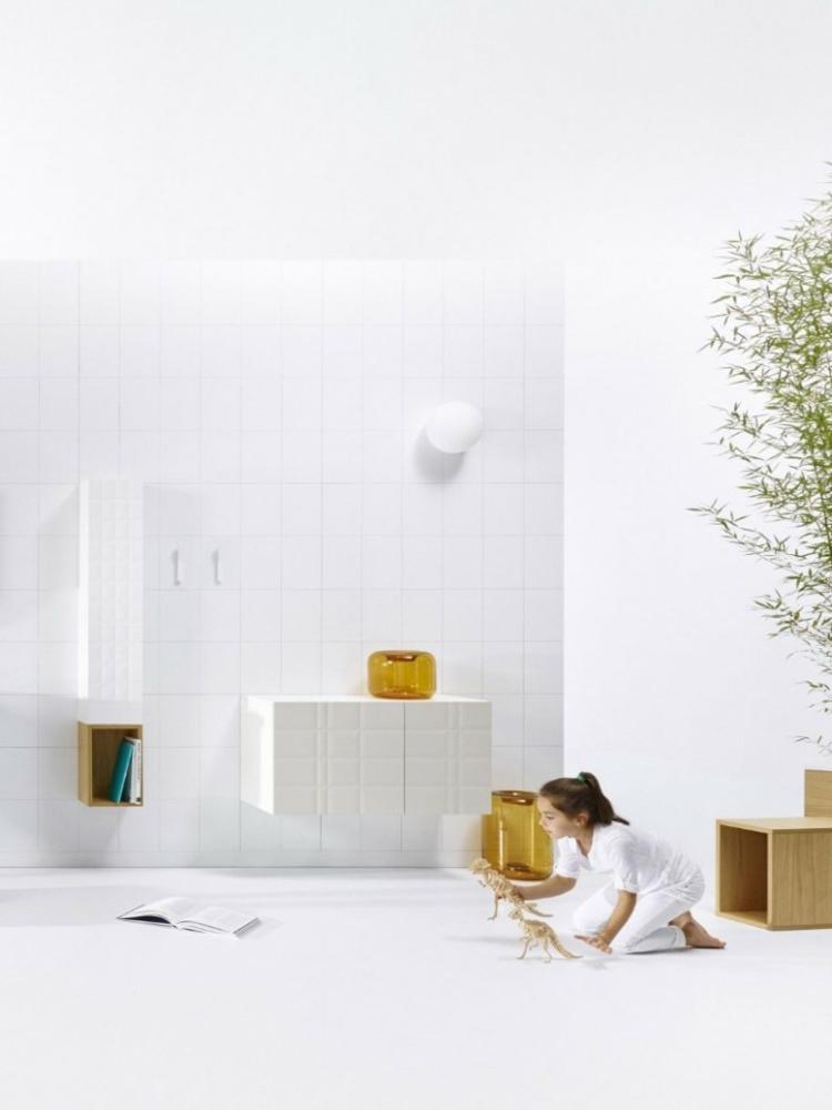 designer badmöbel InGrid badezimmer möbel badfliesen weiß