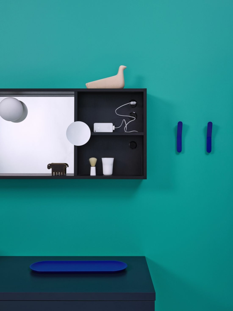 designer badmöbel InGrid badmöbel badspiegel holzregal