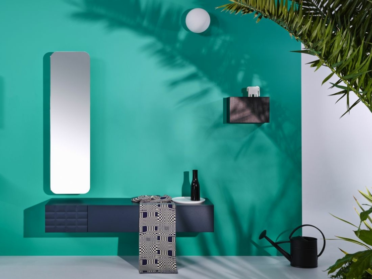 designer badmöbel InGrid badmöbel wandfarbe grün