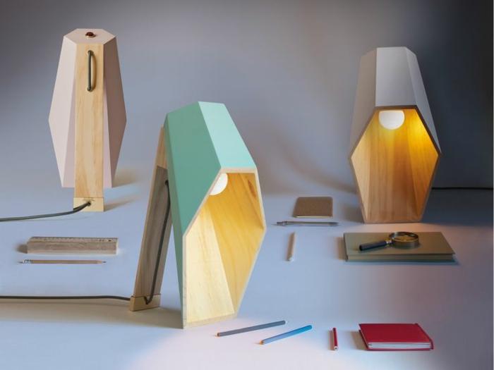 designer leuchten alessandro zambelli tischlampen aus holz